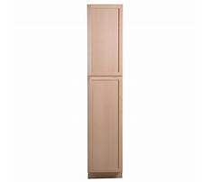 Best Unfinished pantry cabinet home depot