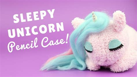 Unicorn Diy Pencil Case