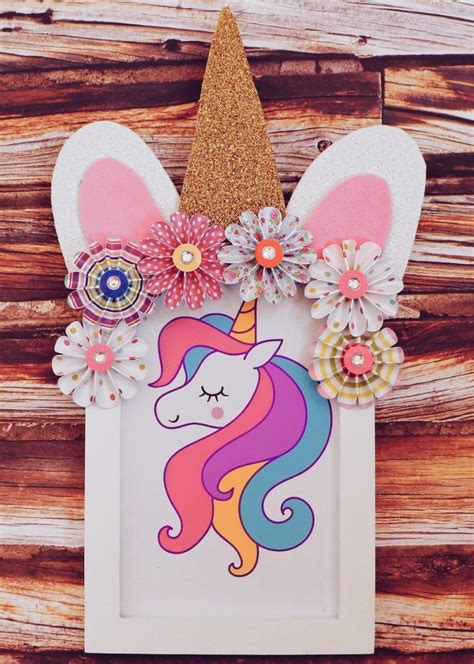 Unicorn Picture Frame Diy