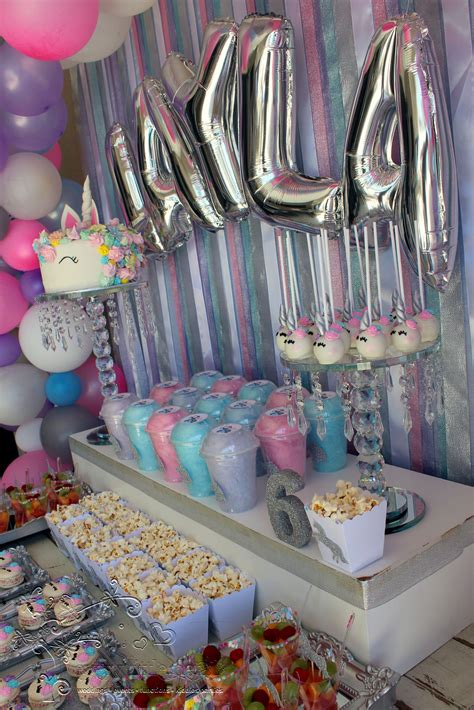 Unicorn Table Decorations Diy Ideas
