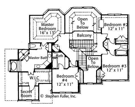 Unique-House-Plans-With-Secret-Rooms