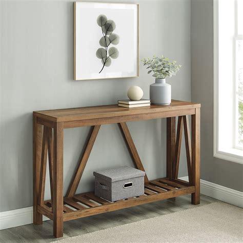 Unique-Modern-Farmhouse-Console-Table