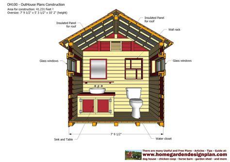 Unique-Outhouse-Plans