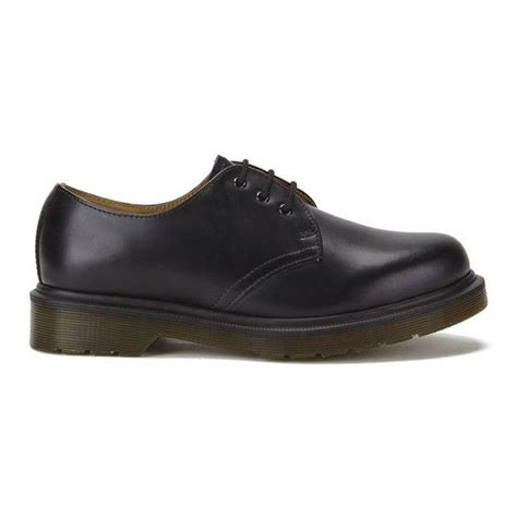 Unisex 1461 W PW 3-Eye Gibson Leather, Fashion Oxfords