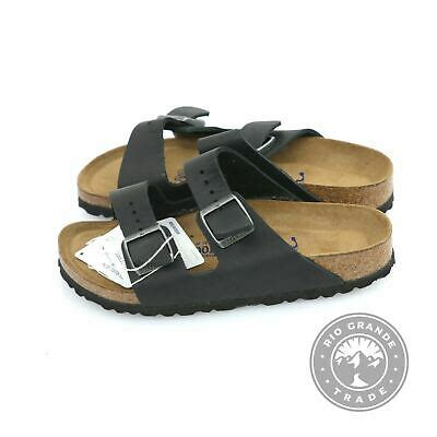 Unisex Arizona Black Sandals - 36 M EU / 5-5.5 2A(N) US