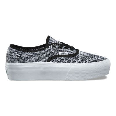 Unisex Authentic Platform (Summer Mesh) Skate Shoe