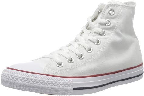 Unisex Chuck Taylor All Star HI Basketball Shoe (9 B(M) US Women / 7 D(M) US Men, Optical White)