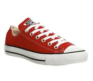 Unisex Chuck Taylor All Star Sneaker (Mens 4/Womens 6, Red/White 9564)