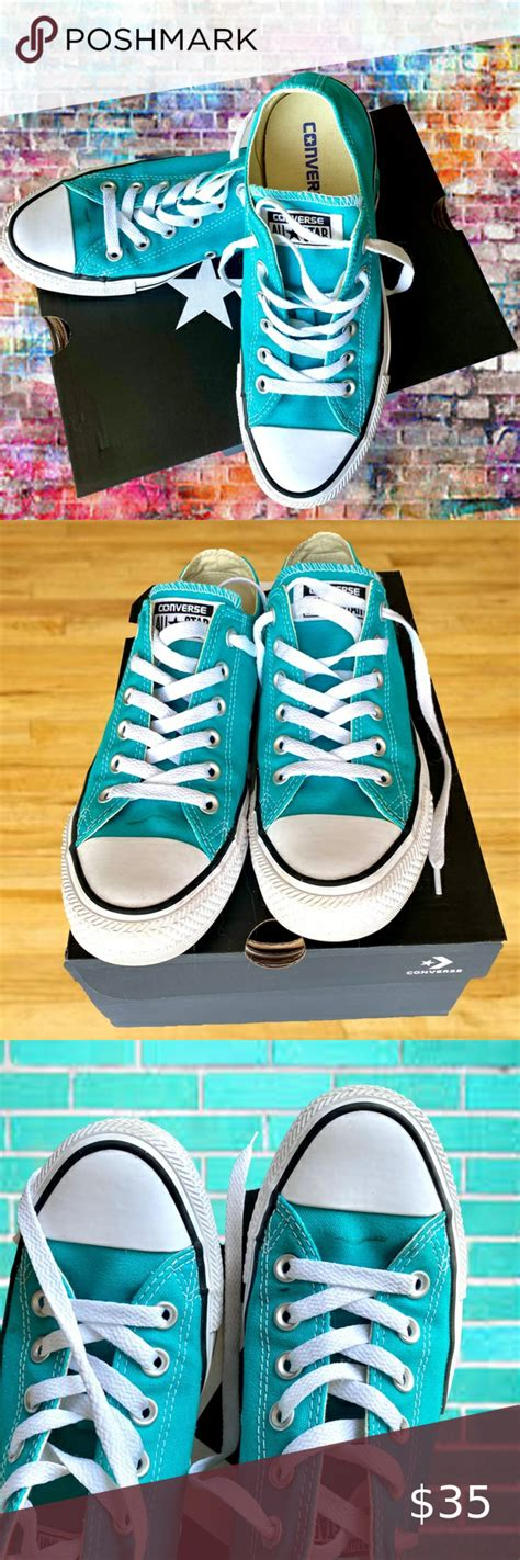 Unisex Chuck Taylor All Star Sneaker (Mens 6/Womens 8, Aqua 9568)