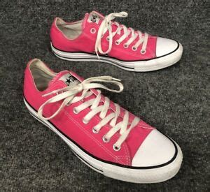 Unisex Chuck Taylor All Star Sneaker (Mens 9/Womens 11, Neon Pink 9561)