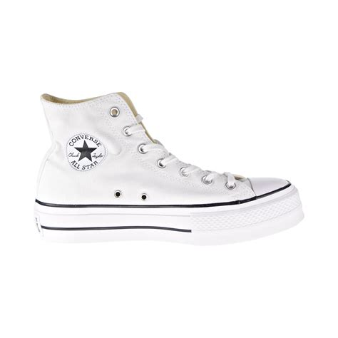 Unisex Chuck Taylor All Star Sneaker (Womens 8.5, Platform White 9553)