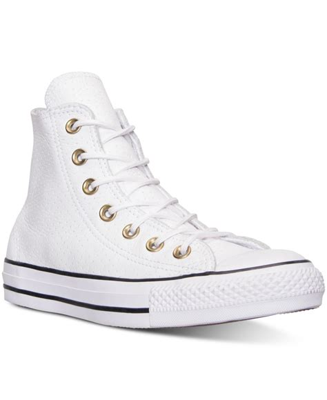Unisex Chuck Taylor Leather Hi Sneaker