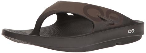 Unisex OOriginal Black Thong Flip-Flop Size : Men 13