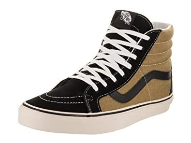 Unisex Sk8-Hi Reissue (Vintage) Black/Olive Skate Shoe 8 Men US/9.5 Women US
