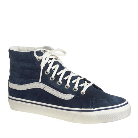 Unisex Vans For J Crew Sk8 Hi Sneakers