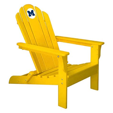 University-Of-Michigan-Adirondack-Chairs