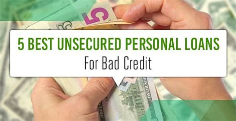 Unsecured Loans Poor Credit