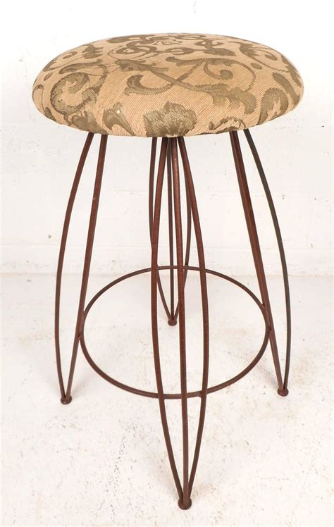 Unusual Bar Stool Designs Wrought Iron Vintage