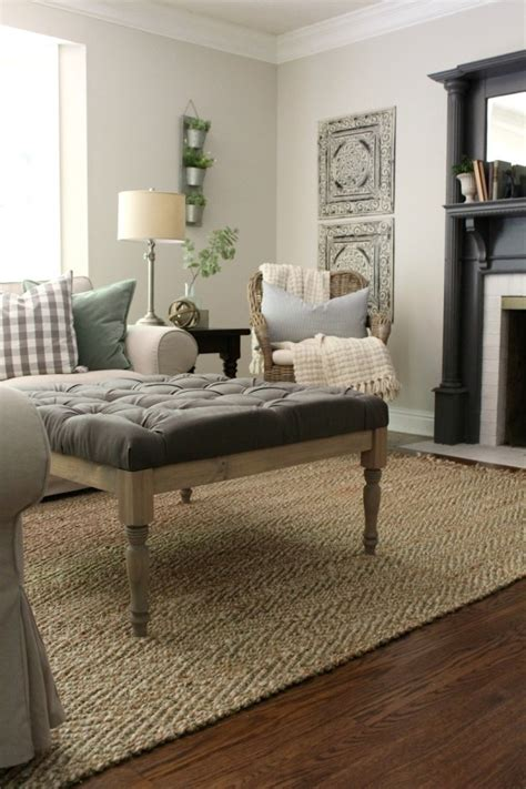Upholstered Coffee Table Diy Pinterest