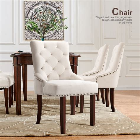 Upholstered Dining Accent Chairs