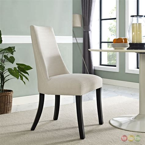 Upholstered Dining Room End Chairs