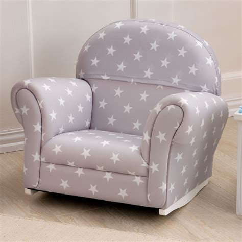 Upholstered Rocking Chair Toddler