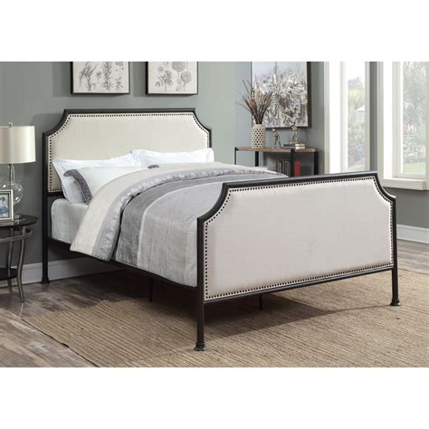 Upholstered-Farmhouse-Bed