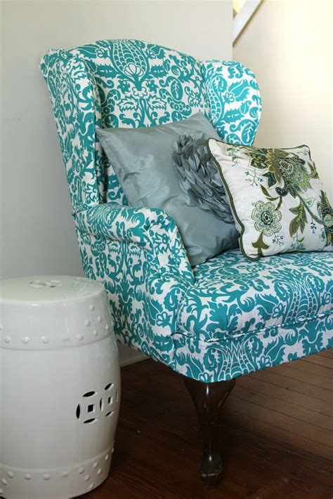 Upholstered-Wingback-Chair-Diy