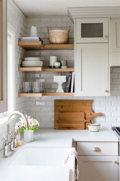 Upper Kitchen Cabinets Open Corner Shelf