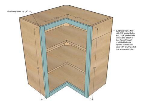 Upper-Corner-Pie-Cut-Cabinet-Plans
