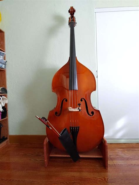 Upright Bass Stand DIY