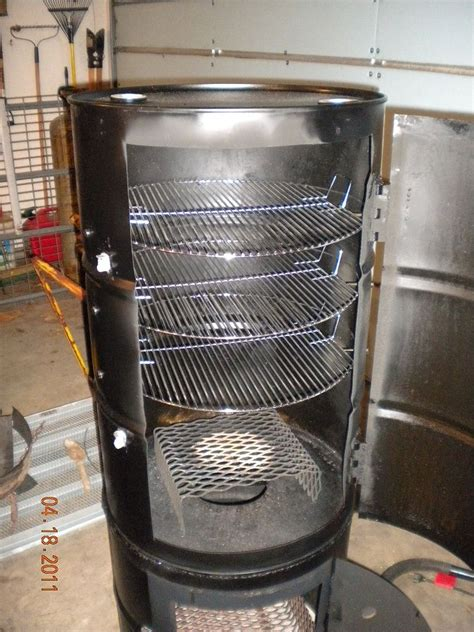 Upright Drum Smoker Plans