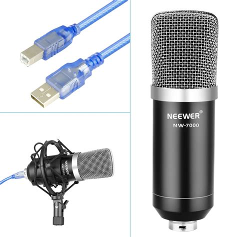 Usb Microphone For Windows And Mac With Suspension Scissor Arm Stand Shock Mount And Table Mounting Clamp Kit For Sound Mic Filter 40089587
