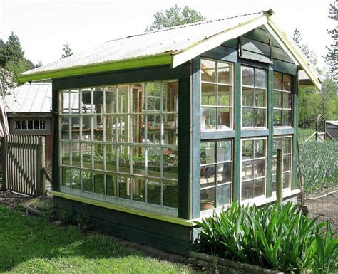 Used Window Greenhouse Plans