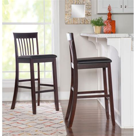 Used Wooden Bar Stools With Backs