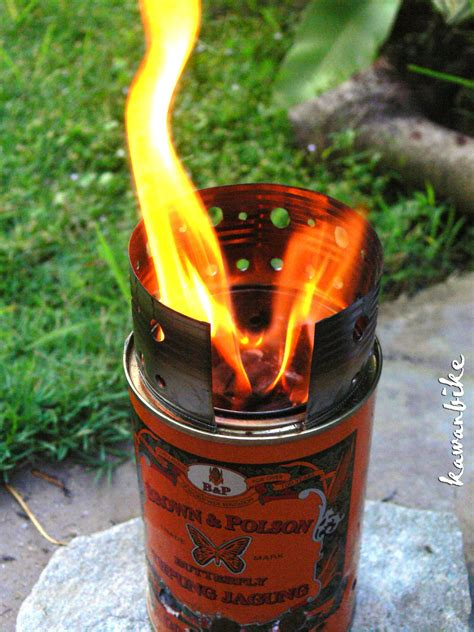 Using A Diy Wood Burning Camp Stove