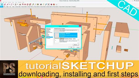 Using Sketchup Software Software For Woodworking Plans