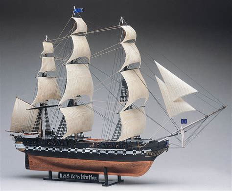Uss Constitution Plastic Model Kit