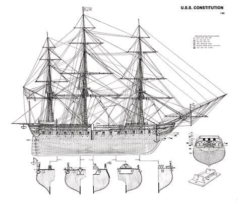 Uss-Constitution-Model-Plans