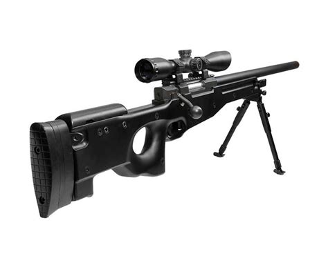 Utg Airsoft Sniper Rifle With Scope And Walther Model 1 Rifle For Sale