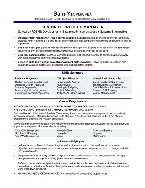 Best Resume Writing Service Utility Project Manager Resume