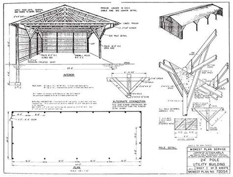 Utility-Barn-Plans