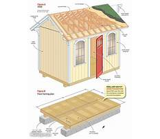 Best Utility shed plans free