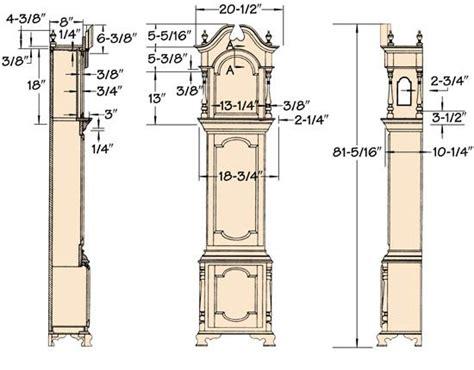 V-Long-Case-Clock-Case-Plans