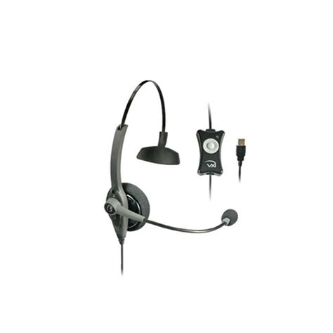 VXi 203008 TalkPro USB1 Mono USB Headset with N/C Microphone for Speech Recognition