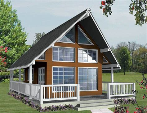Vacation Cabin With Loft Plans