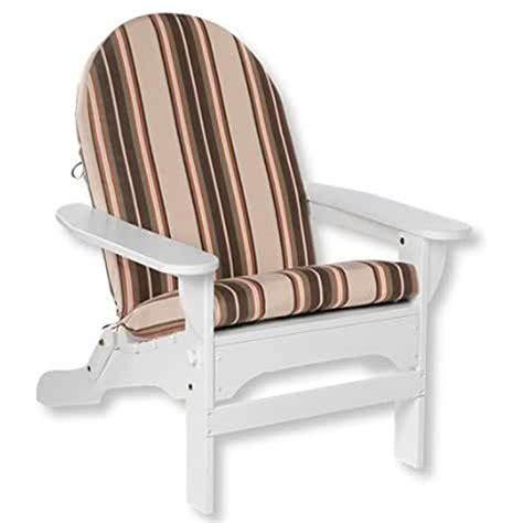 Valencia Orange Striped Adirondack Chair Cushion