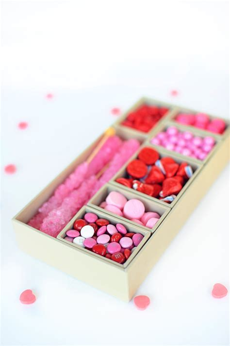 Valentine Candy Box Diy Gift