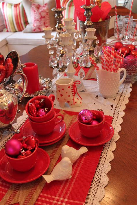 Valentine Table Decorations Ideas