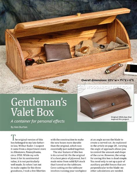 Valet-Box-Woodworking-Plans